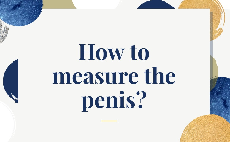 how to measure the penis